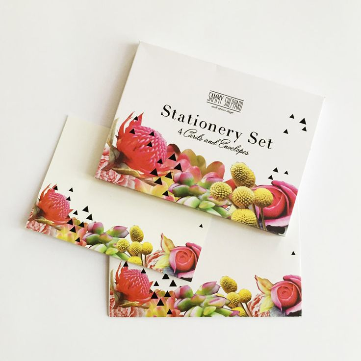 Fynbos Stationery Set - Sammy Sheppard | Spoil your Valentine with something special from shop.kamersvol.com