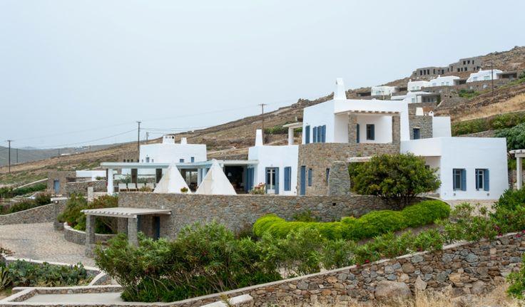 The close view of the Villa.