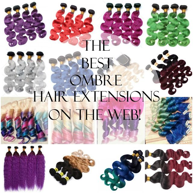 The Best Ombre Human Hair Extensions & Clip-ins on the Web