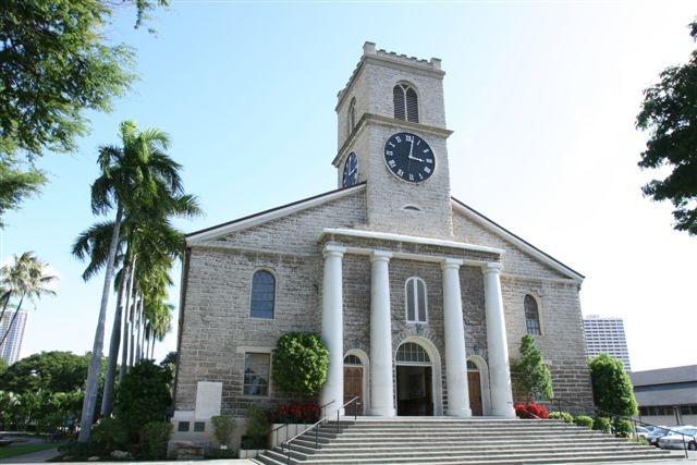【Kawaiahao Church(カワイアハオ教会)】 ハワイ最古の教会