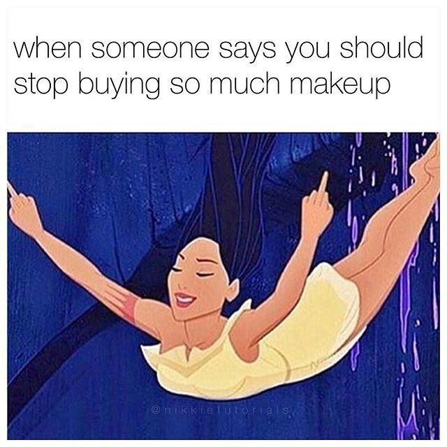 You don't need that kind of nonsense in your life  Repost: @nikkietutorials