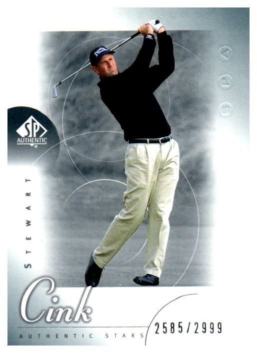 Just Added To Our Store 2001 SP Authentic... Check It Out http://jmcollectibles.org/products/2001-sp-authentic-stewart-cink-rookie-golf-card-2999?utm_campaign=social_autopilot&utm_source=pin&utm_medium=pin