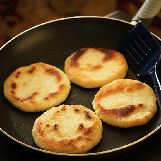 Arepas ~ Venezuelan Corn Flour Flatbreads   Cook & Be Merry