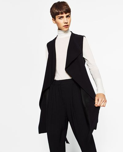 LONG WAISTCOAT-Collection-MONDAY TO FRIDAY-WOMAN | ZARA United States