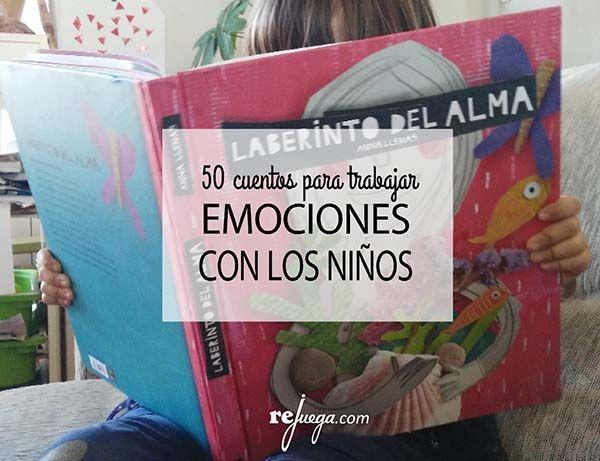 50 libros para trabajar las emociones con los niños