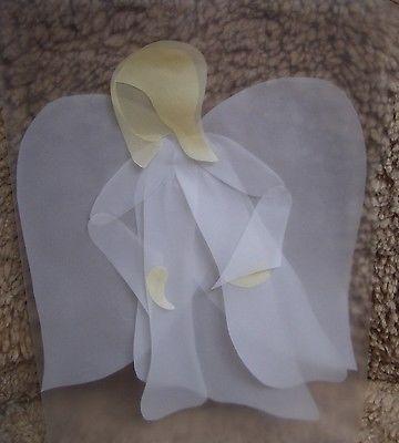 fensterbild transparent engel anleitung basteln waldorf transparentbild fenster basteln und ebay. Black Bedroom Furniture Sets. Home Design Ideas