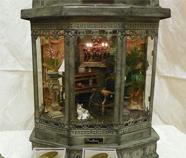 76 Best Images About DOLLHOUSE ROOM BOXES On Pinterest