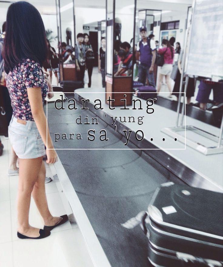 Ang love ay parang paghihintay ng bag mo sa baggage claiming area ng airport. Darating din yan, abang ka lang