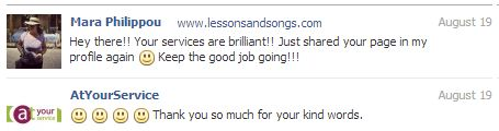 Εσείς μας μεταδίδετε θετική ενέργεια...Ευχαριστούμε πάρα πολύ Μάρα για τα θετικά σου σχόλια.  #testimonial