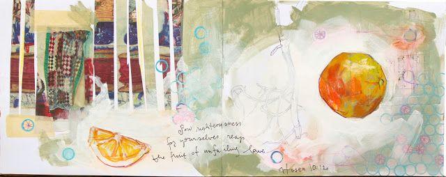 Lauren Spindle : Artist Blog: Messy Sketchbook