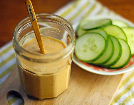 Chipotle Ranch Dip or Dressing by theperfectpantry #Dressing #Chipotle #Ranch