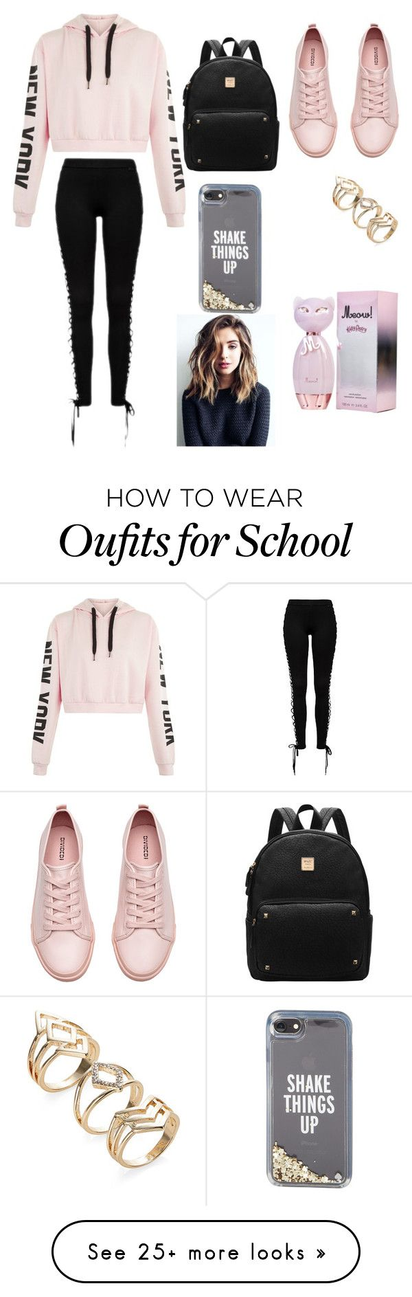 """my life"" by estrella-edily-lantigua-castro on Polyvore featuring H&M and Kate Spade"