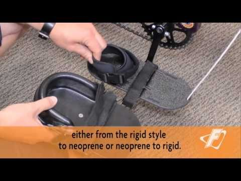 Neoprene-to-Rigid Footplate Adjustment Video for Freedom Concepts Adaptive Tricycles