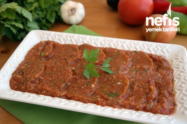 Patlıcan Ezme Tarifi – Çok lezzetli çok pratik bir tarif