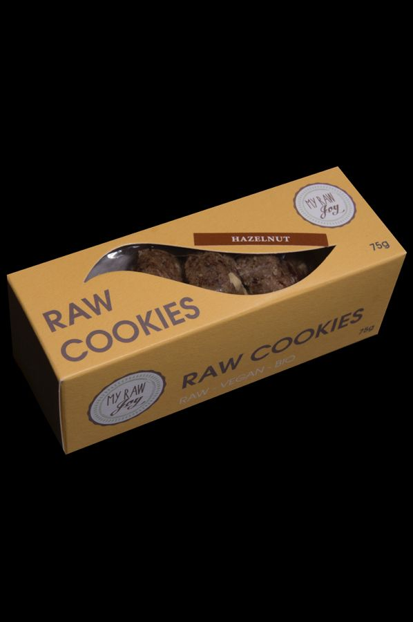 Raw Cookies Hazelnut, Raw Vegan, Clean Eating, Bio