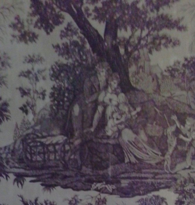 Antique heirloom s ...TICKING, TAPESTRY. .LINEN AND SILK