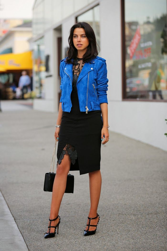 Style Stalker TLC dress | Club Monaco jacket - sold out { similar options  here &