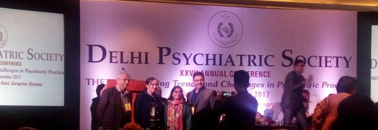 """Shanti Home, Advanced Deaddiction,Mental Health Clinic & Psychiatric Rehabilitation, Dr Kavita & Dr Sangeeta got the award for """"best paper and for best poster.. GAMES Therapy"""" at DELHI PSYCHIATRIC SOCIETY 27th Annual Conference"""