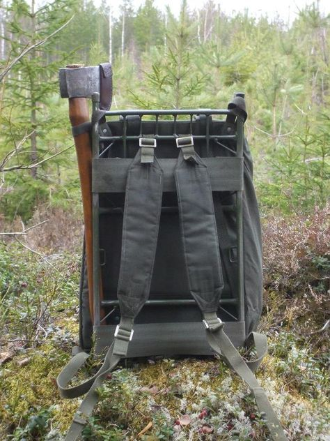 LK-35 Swedish army rucksack (and a little bonus) « The Weekend Woodsman