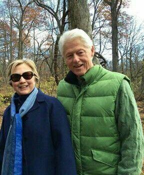 Hillary and Bill Clinton (2016)