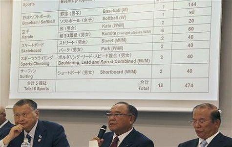 Los organizadores de los Juegos Olímpicos de Tokio 2020 recomendaron la inclusión de cinco deportes: béisbol