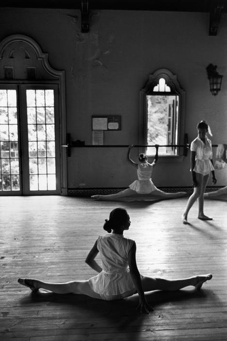 Rene Burri. CUBA. Havana. Ballet school at the Instituto Bellas Artes. 1963