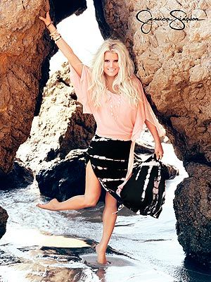 Jessica Simpson and her new Spring collection ad shots