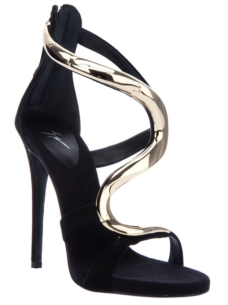 Giuseppe Zanotti Design Strappy Sandal - Oh I would be feeling like Cinderella while wearing these shoes !! SarahJM