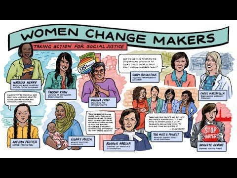 Women Change Makers: Taking Action for Social Justice - ETFO Voice Summer 2017