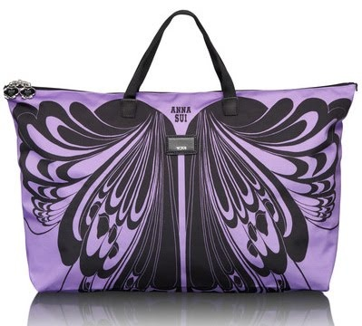 great design & color !  Anna Sui 2012 Spring Collection for Tumi