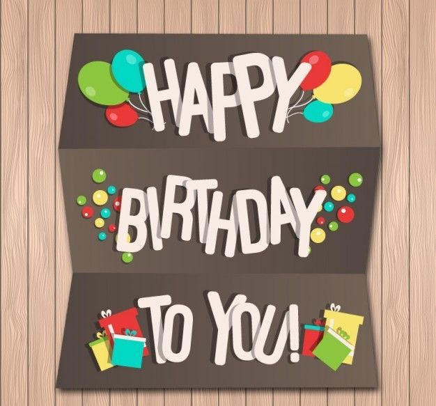 29 best Birthday Bytes images on Pinterest Anniversary ideas - birthday card template