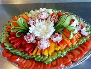 Image result for Vegetable Party Tray Ideas