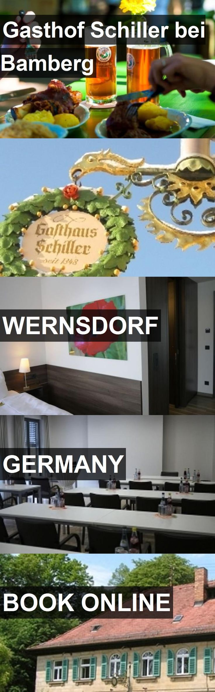 Hotel Gasthof Schiller bei Bamberg in Wernsdorf, Germany. For more information, photos, reviews and best prices please follow the link. #Germany #Wernsdorf #GasthofSchillerbeiBamberg #hotel #travel #vacation