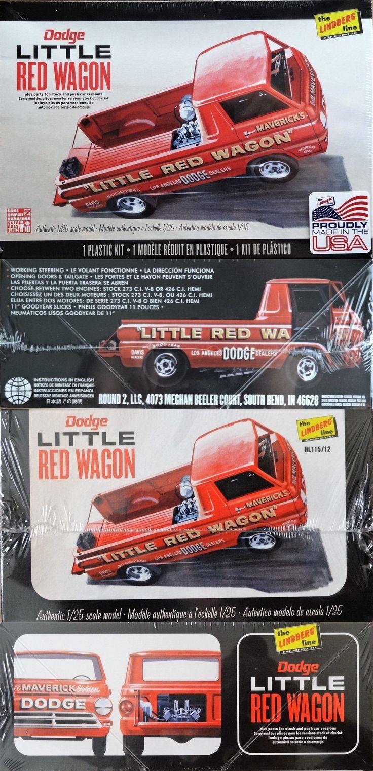 Truck 2584: Lindberg Round 2: Dodge Little Red Wagon ...