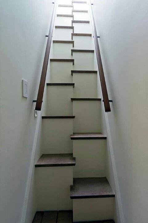 Weird stairs