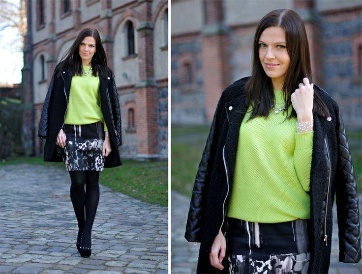 Addicted to Fashion - spódnica z naszej kolekcji jesień/zima 2012 #moda #blogerki #addictedtofashion #danhen