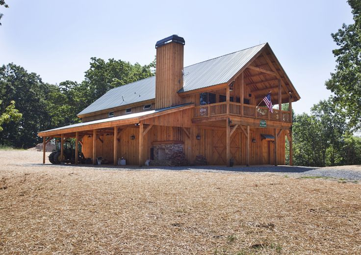 Great Plains Western Horse Barn Home Project By Sand Creek Post Beam