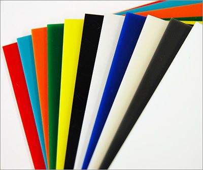 Translucent and Opaque Colored Acrylic Sheets