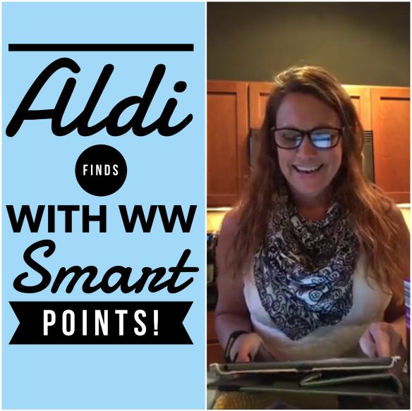 Headed to Aldi?  Watch our chat first for Weight Watchers Finds with Smart Points! •40 items listed with SP listed •4 Easy Meal ideas with SP listed •1 recipe with SP listed