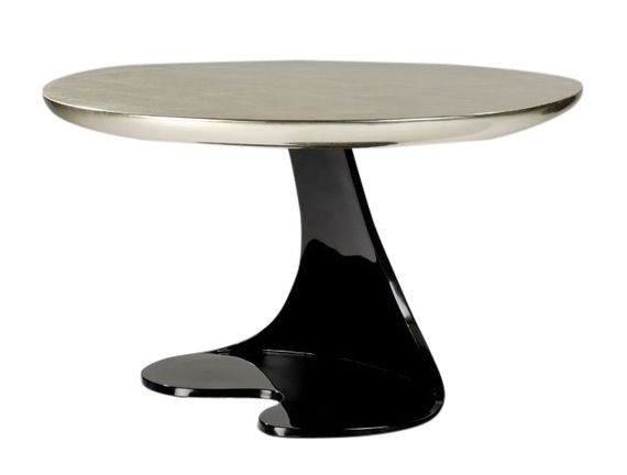 Elegant Jean De Merry Narcisse Side Table By Hubert