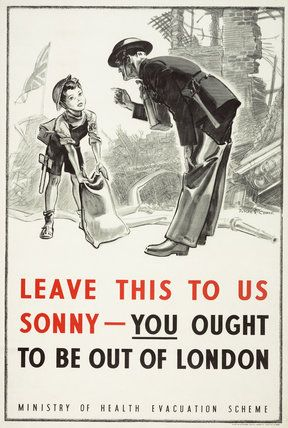 Leave This to Us, Sonny - You Ought to be Out of London