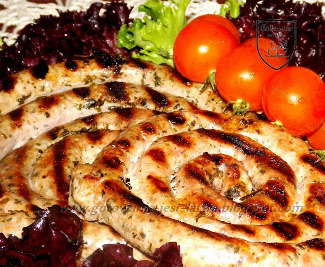 Gotowanie jest łatwe: Biała kiełbasa z grilla