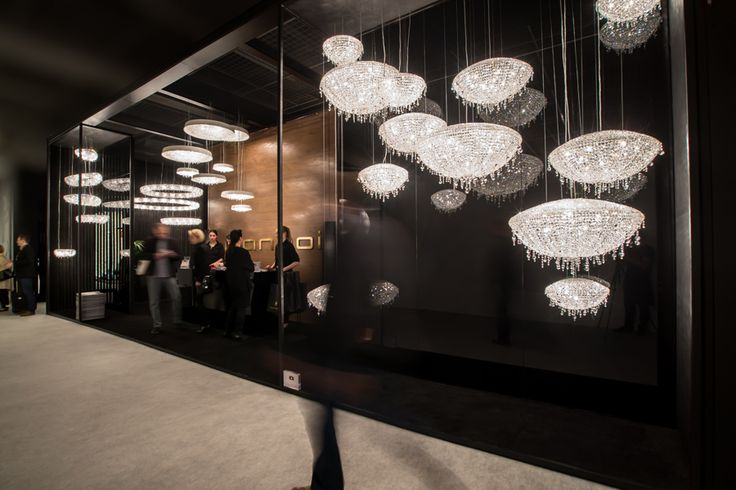 Light + Building 2014, Manooi boothwww.manooi.com #Manooi #Chandelier #CrystalChandelier #Design #Lighting #exhibition #LightBuilding