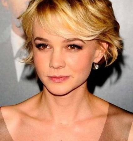 medium to short length haircuts for square faces - Google Search