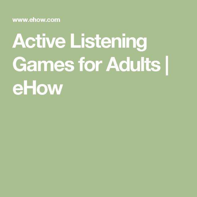 active adult activities