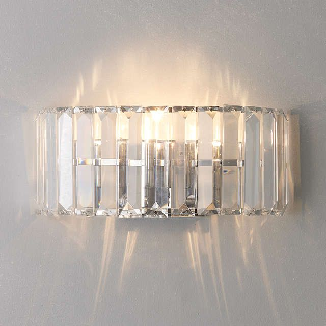 BuyJohn Lewis Frieda Wall Light, Clear Online at johnlewis.com