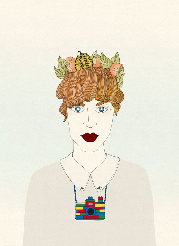 Alexis winter illustration