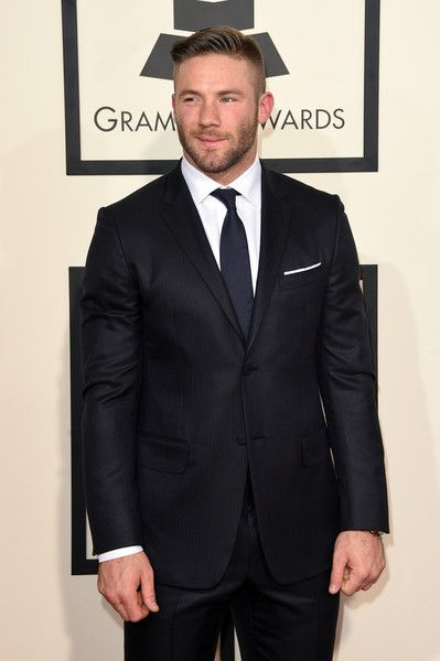 Julian Edelman Photos: 57th GRAMMY Awards - Arrivals