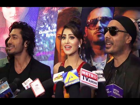 Urvashi Rautela & Vidyut Jamwal   GAL BAN GAYI song launch.