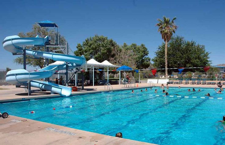 Oasis Pool at Naval Air Weapons Station China Lake, CA.